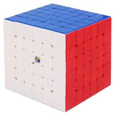 Yuxin Peu de Magie 6x6 Cube Stickerless Magic x6 Vitesse Cube Zhisheng Cube Éducatif Spécial Jouets Pour Enfants