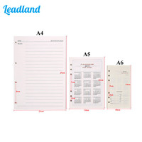 Kingfom High Quality Note Paper 500 Page Loose Leaf Note Paper Office Supplies