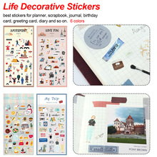 Lovely Decorative Stickers Decorative Stickers Hand Account