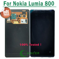 Free Shipping 100 New LCD Screen Display For Nokia Lumia 800 Touch Screen Digitizer Full Complete