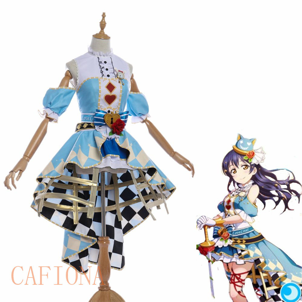 Cafiona love live cosplay Sonoda Umi cosplay costume new LoveLive Sunshine cosplay set custom made size