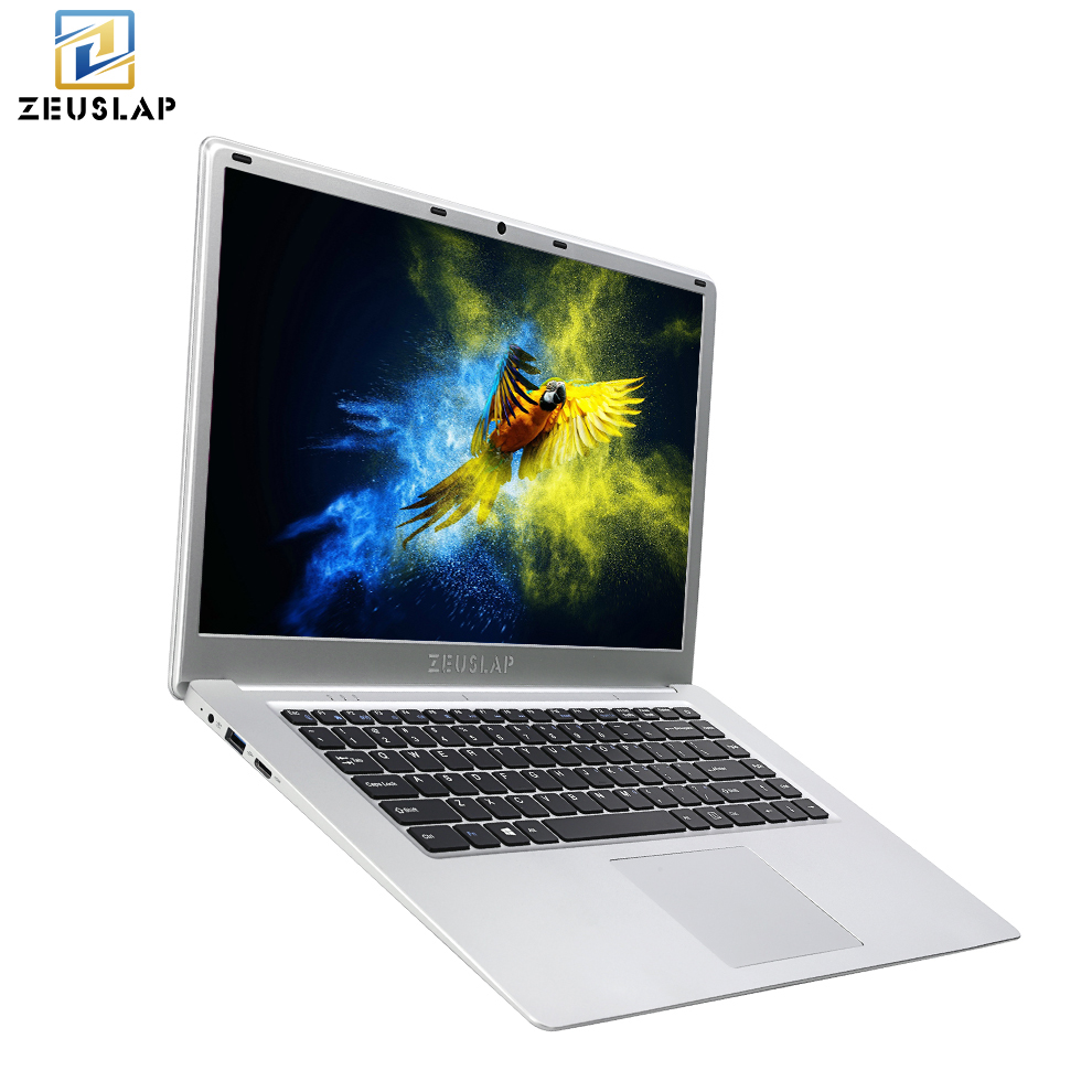 ZEUSLAP 15.6inch 6GB Ram 2TB HDD Windows 10 System Intel Quad Core CPU 1920*1080P Full HD Laptop Notebook Computer