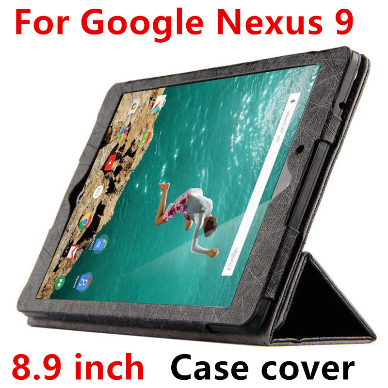 Case For Google Nexus 9 Cases Smart Cover For Nexus9 leather Protective Protector PU Tablet by HTC Covers 8.9 inch N9 Sleeve case for apple ipad pro 9 7 inch protective shell smart cover pu leather back cases tablet pc for ipad pro9 7 ipad7 9 7 covers