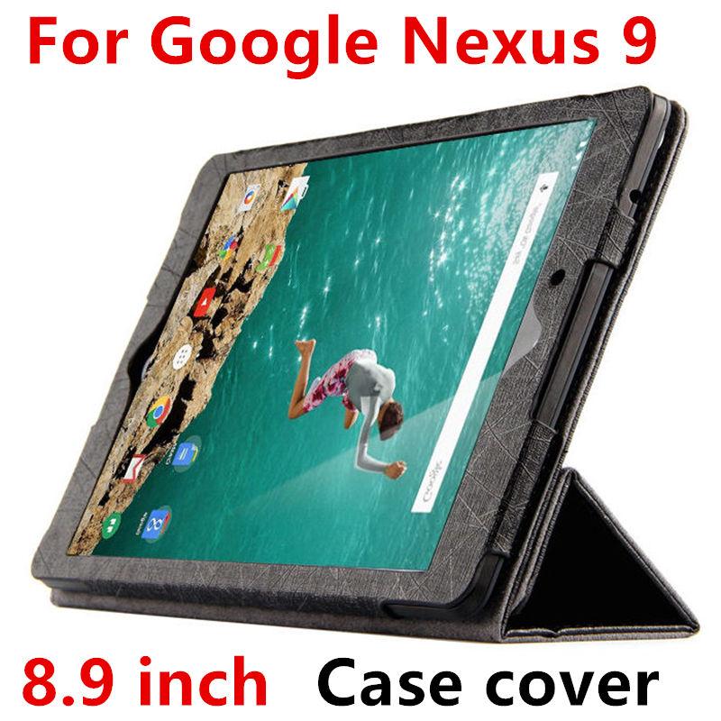 Case For Google Nexus 9 Cases Smart Cover For Nexus9 leather Protective Protector PU Tablet by HTC Covers 8.9 inch N9 Sleeve motorola pulse 2 ультра складные поворотные наушники проводной белый