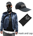 Game Watch Dogs 2 Marcus Holloway 's Cosplay Costume Jacket Coat Send Mask Cap