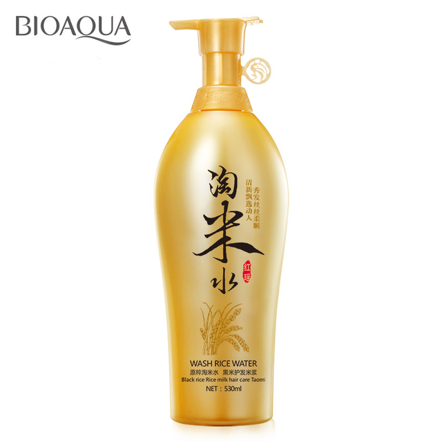 Traditional Wash Rice Water Shampoo Black Rice Milk Hair Care Products Anti dandruff Oil-control Itching Conditioning Treatment