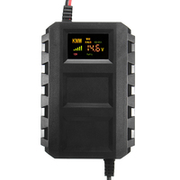 Smart Intelligent 12V Automobile Lead Acid Battery Charger for Car Motorcycle Car Styling