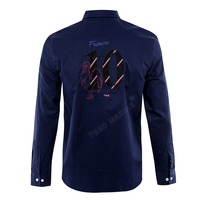 Best selling Classic France brand Eden Park Men formal Shirts Cotton long Sleeve Polos Trendy business shirt for men office