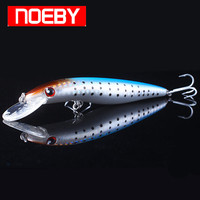 Noeby Minnow Fishing Lure 100mm/11.3g Floating 0.8-1.8m Hard Baits VMC Hook Isca Artificial Para Pesca Leurre Peche Fish Feeder