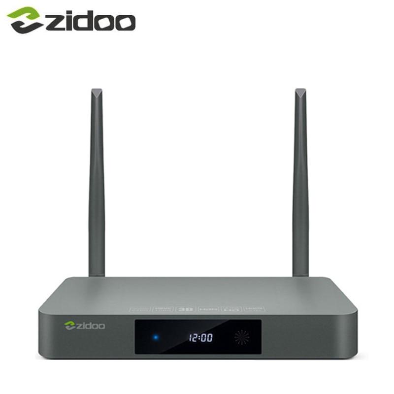 Original ZIDOO X9S HDMI TV BOX Android 6 0 with US EU Russia Aisa IPTV Movie