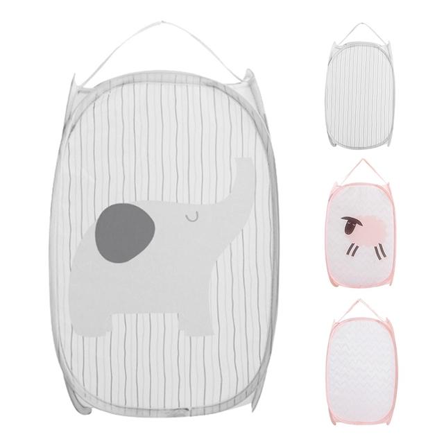 Foldable Clothes Storage Basket / Laundry Basket