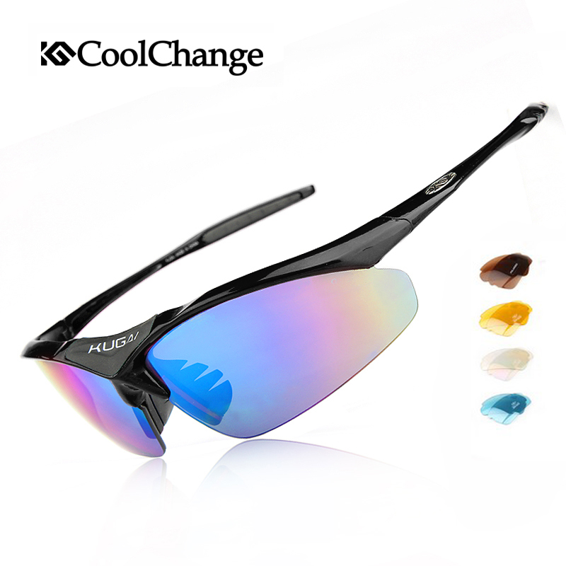 Coolchange Bicycle Glasses men bicycle glasses goggle cycling 5 Groups of Lenses Cycling Eyewear Present Myopia Frame coolchange professional 5 groups of lenses polarized sunglasses cycling glasses sports eyewear oculos de sol 4 colors