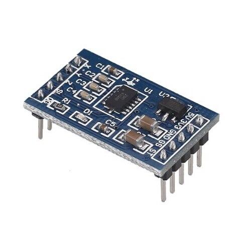 Glyduino MMA7361 Angle Sensor Inclination Accelerometer Acceleration Module For Arduino Instead of MMA7260