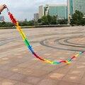 Outdoor Fun Sports Nuevo de Alta Calidad Accesorios de la Cometa 6 m Multicolor Cola de Nylon Para Delta kite/Truco/software cometas Niños Gif