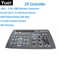ELF Console Newest 432 Channel DMX Controller Stage Lighting Dj Equipments DMX Console For Indoor / Outdoor Wedding Disco Shows