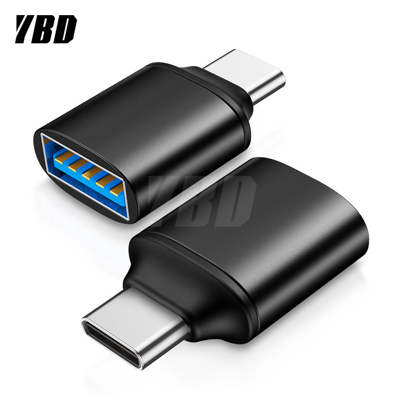 YBD OTG Type-C/USB OTG Adapter USB Type C For Xiaomi Huawei Samsung S9 Typec Adaptador USB Tipo C Type-c To USB 3.0 OTG Adapter