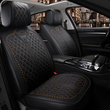 OUMANU Универсальный 5 мест автомобильный чехол для сиденья роскошный кожаный чехол для автомобиля для honda mazda bmw audi benz citroen peugeot