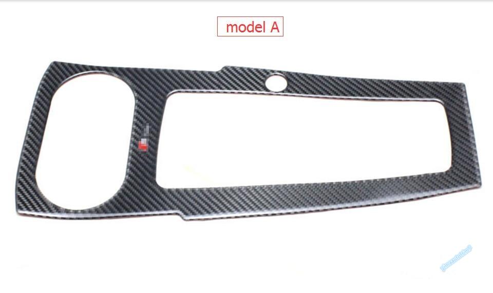 Көміртекті талшық! Audi A3 үшін 1 PCS 2014-2017 - Автокөліктің ішкі керек-жарақтары - фото 2