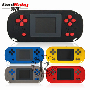 Portable Retro 2 inch Children 8Bit Handheld Game Console Game Player For NES Built-in 268 Games Children's Game Console