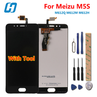 For Meizu M5S LCD Display Touch Screen 100 New High Quality Digitizer Glass Panel Replacement For