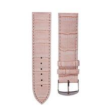 14mm High Quality Soft Sweatband Leather Strap Steel Buckle Women Men Wrist Watch BandF3