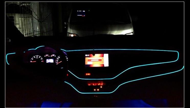 цены на CAR LED Cold lights Flexible Neon EL Wire For Renault clio megane 2 3 duster captur logan fluence kadjar Car Accessories в интернет-магазинах