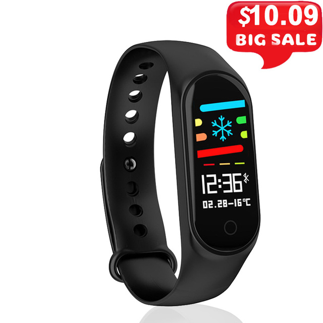 M3S Fitness Bracelet Blood Pressure Heart Rate Monitor Smart Band