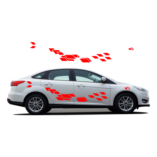 Car decals for ford focus 2017 new personality car sticker funny diy decal sticker car styling