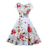 Sisjuly 1950s Vintage Dresses Autumn Knee Length Patchwork Elegant Party Dress Retro Women Pleated Light Blue