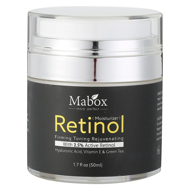 Retinol 2.5% Moisturizer Face Cream Vitamin E Collagen Retin Anti Aging Wrinkles Acne Hyaluronic Acid Green Tea Whitening Cream крем librederm vitamin e cream antioxidant for face 50 мл