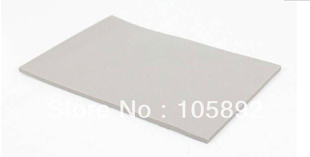 Free shipping 400mm*200mm*2.0mm Grey Silicone Thermal Pad GPU CPU Heatsink Cooling Conductive Silicone 100mmx100mmx0 5mm gpu cpu heatsink cooling thermal conductive silicone pad for graphic cards chips bridge memory chipset