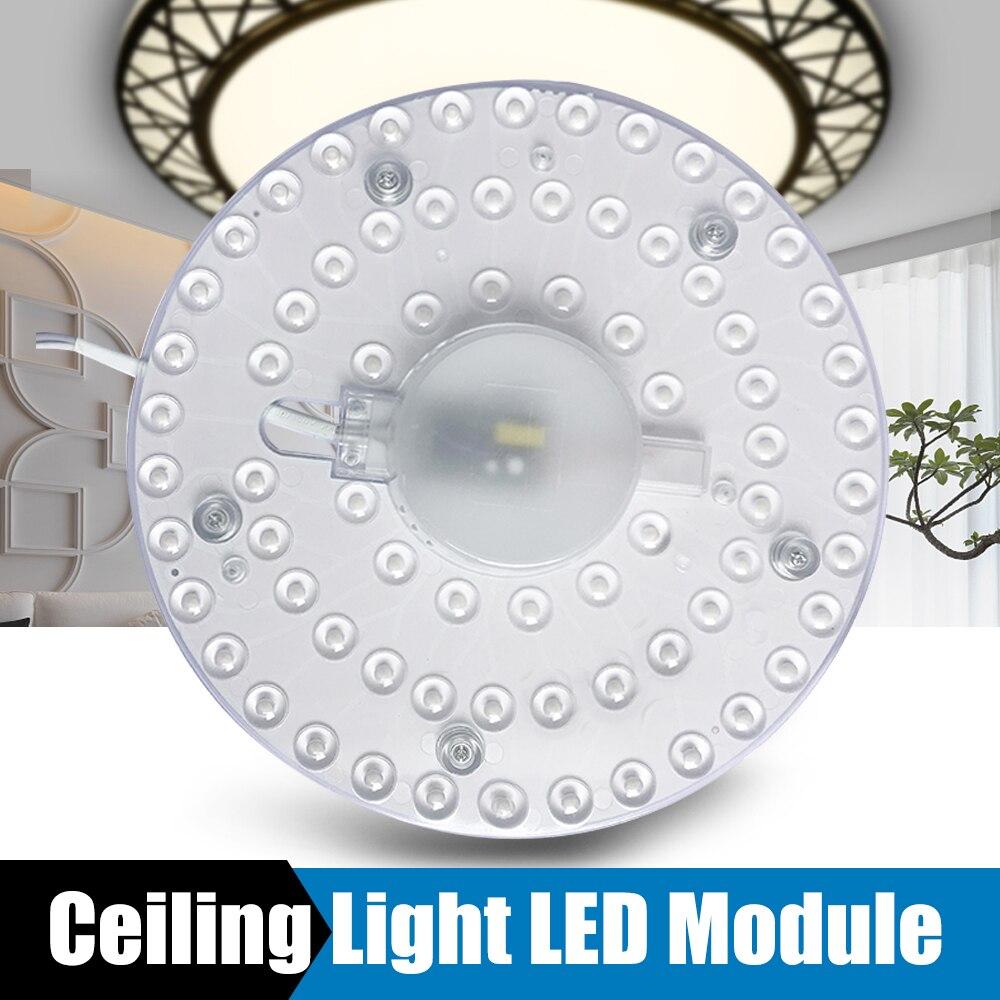 Led Module Light Ceiling Lamps 12W 18W 24W 36W AC220V 230V 240V Energy Saving Replace Ceiling Lamp Lighting Source Livingroom