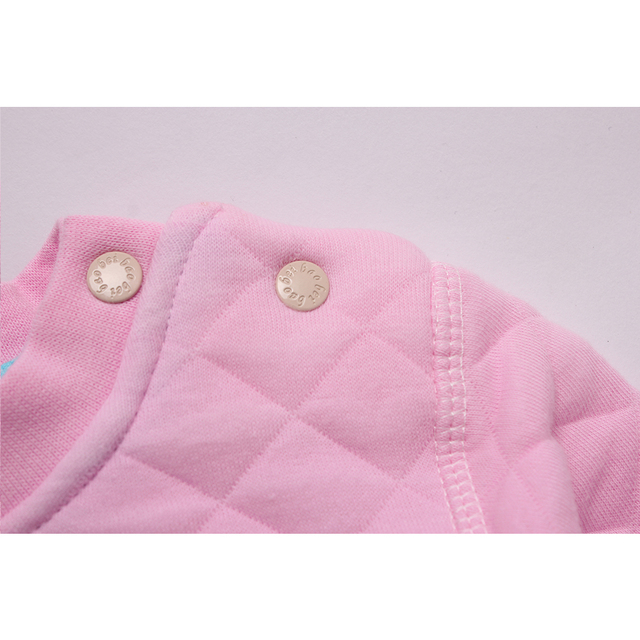 Baby boys hoodies clothes Girls sweatshirts Autumn Winter pullover cotton letter long sleeve pink hoodie tracksuit 6-18M