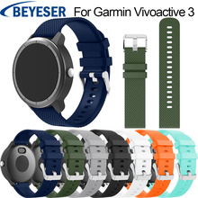 for Garmin Vivoactive 3 Sport Strap Band Silicone Watchband Samsung Gear S2 Wrist For 645 Watch band