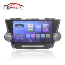 """Радио 10.2 """"автомобилей для Toyota Highlander Kluger 2008-2012 Android 6.0 автомобильный dvd плеер с Bluetooth, GPS, МЖК, wifi, Зеркало Ссылка, DVR"""