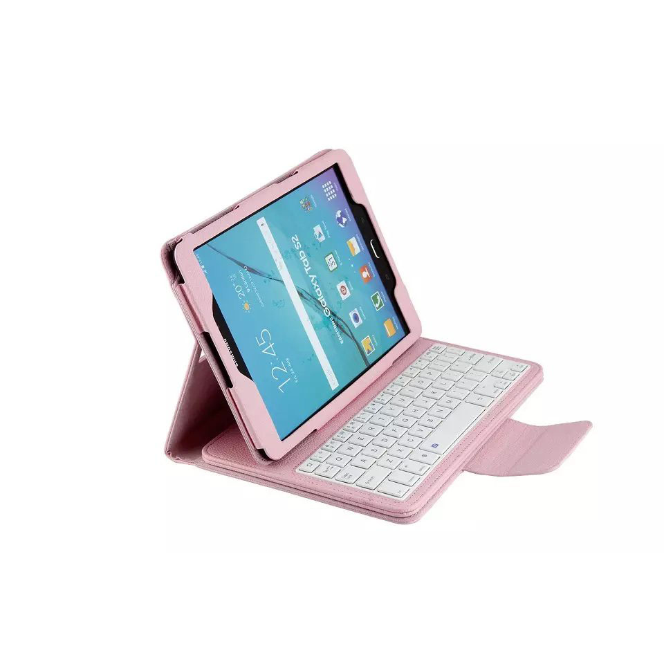 ФОТО For Samsung Galaxy Tab s2 9.7 sm-T810 SM-T815 case Removable Wireless Bluetooth Keyboard Case for samsung galaxy tab T810 T815