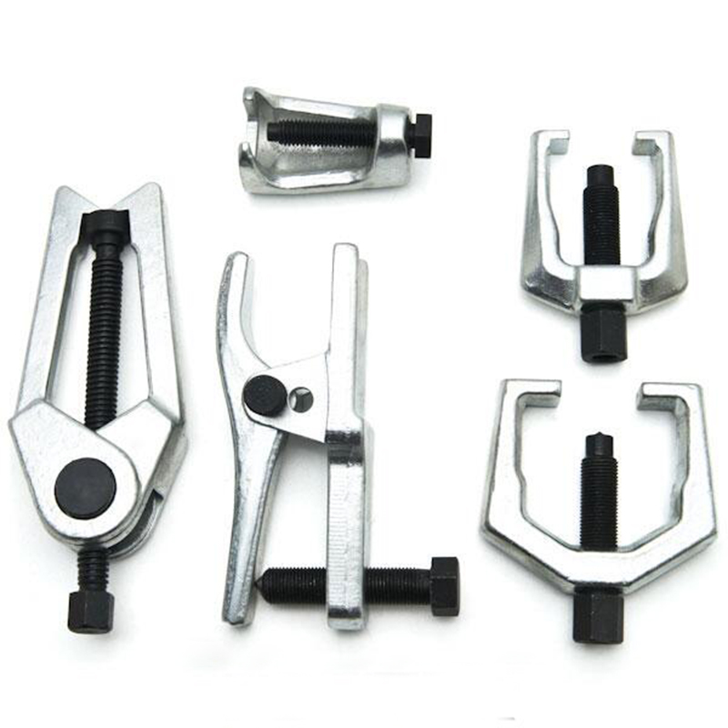 цена на 6pc Front End Service Tool Kit Ball Joint Separator Pitman Arm Tie Rod Puller