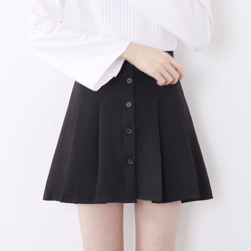 ee2d22156 Girls Pleated Grey School Skirt Adjustable Waistband Heart Button.