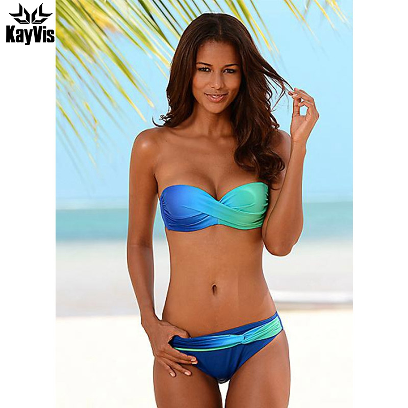 KayVis New 2017 Bikini Women Swimsuit Female Swimwear Retro Sexy Summer Bikini Set Beach Swim Wear Summer Bathing Suits Biquini tqskk 2017 new sexy solid women swimwear bikinis swimsuit female summer retro bikini set beach swim wear bathing suits biquini