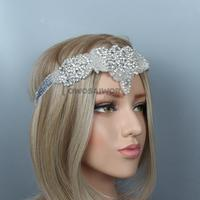 Fashion Women Diamante Headband Hair Hoop Accessories Unique Female Hair Band Head wear Girls Wedding Headdress