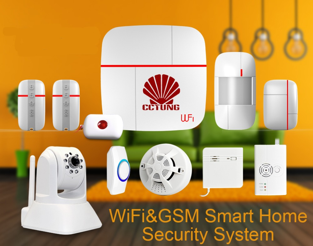 WIFI & GSM Multi-function Smart Home Alarm System with 7pcs of Wireless Sensor & Medical Emergency Button & HD IP Camera Ver C girls party tutu dress baby princess ball gown costume tulle children dress for kids pageant prom wedding flower girl dresses