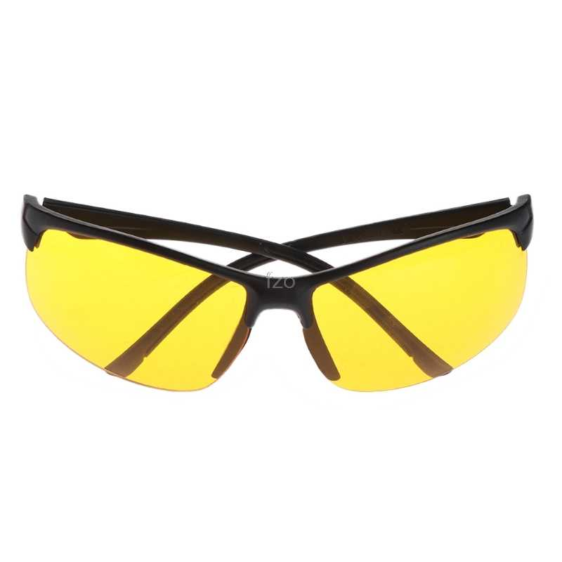 NewNight Vision Glasses Fishing Cycling Outdoor Sunglasses Yellow Lens Protection Unisex UV400 Fishing Eyewear yhq
