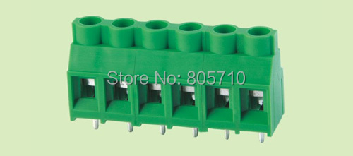 7620 7 62 2P PCB Screw Terminal Block 7 62mm Pitch 2P 300V 30A 22 10AWG