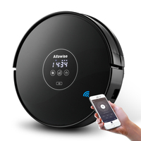 Alfawise X5 Robotic Vacuum Cleaner 1000pa Strong Suction Alexa Control Wet Dry Moping Auto Self Charging