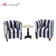 цена на Dollhouses 1/12 scale fine miniature furniture Simple Round table and 2pcs chair Set