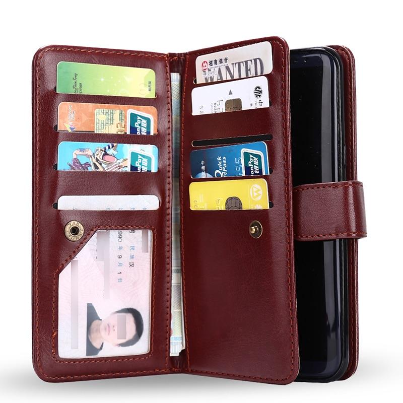 Haissky 9 Card Slots Phone Case για Samsung Galaxy S8 S8 Plus S8 + - Ανταλλακτικά και αξεσουάρ κινητών τηλεφώνων - Φωτογραφία 3