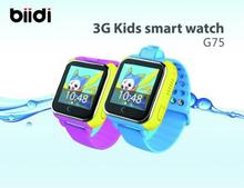 Biidi Bluetooth Smart Watch G75 Support Sim Card Smartwatch For IOS Android PK DZ09 U80