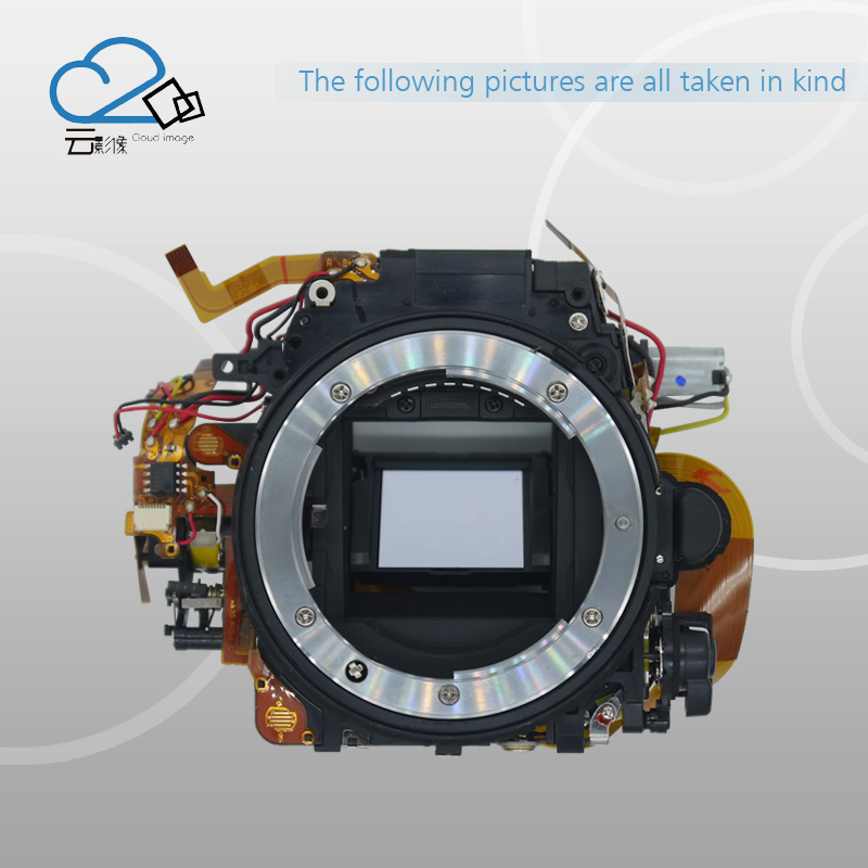 Test Ok!D7200 Camera Repair parts without Shutter assy Mirror Box Body Framework For Nikon