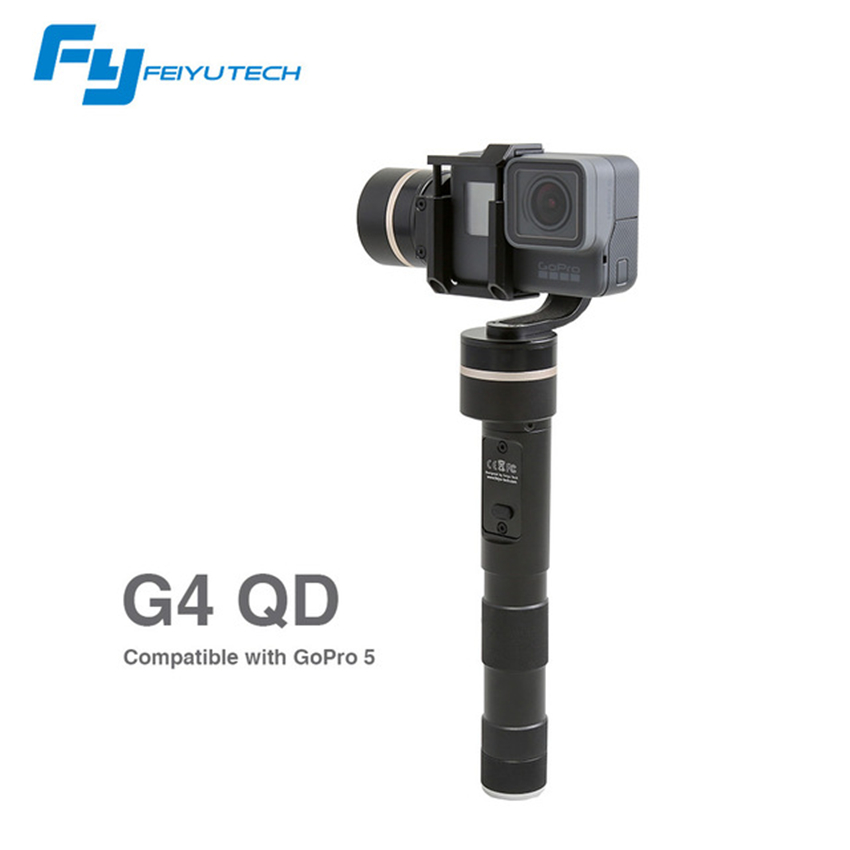 Feiyu Tech FY-G4 QD 3 Axis Brushless Gimbal For Gopro camera Handheld Stabilizer