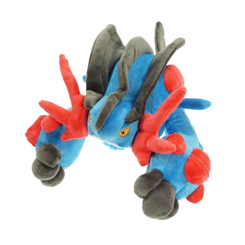 30 cm mignon peluche jouet Swampert Mega Mudkip dessin animé doux poupées en peluche pour noël anniversaire enfants cadeau